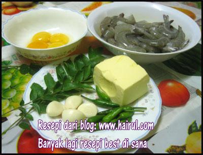 resepi butter prawn resepi mudah paling sedap blog hairul