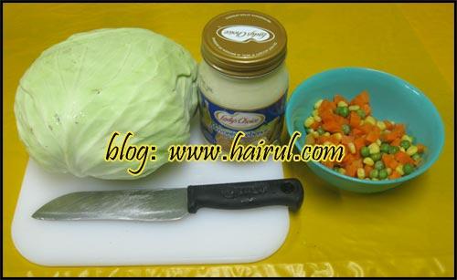 bahan bahan coleslaw